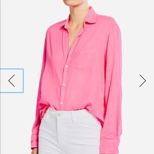 Frank & Eileen Eileen Tissue Color Italian Shirt